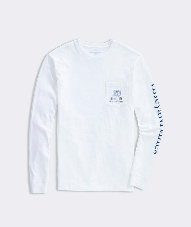#1 Draft Pick Long-Sleeve Pocket Tee