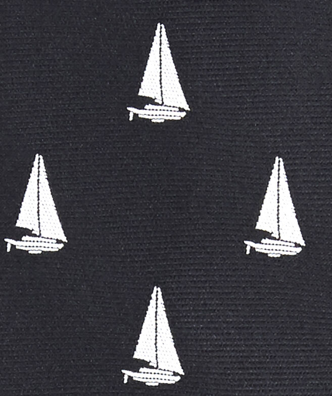 Sailboat Kennedy Skinny Tie