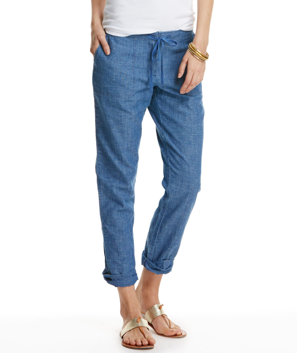 Shop boardwalk chambray pants at vineyard vines for Chambray jeans