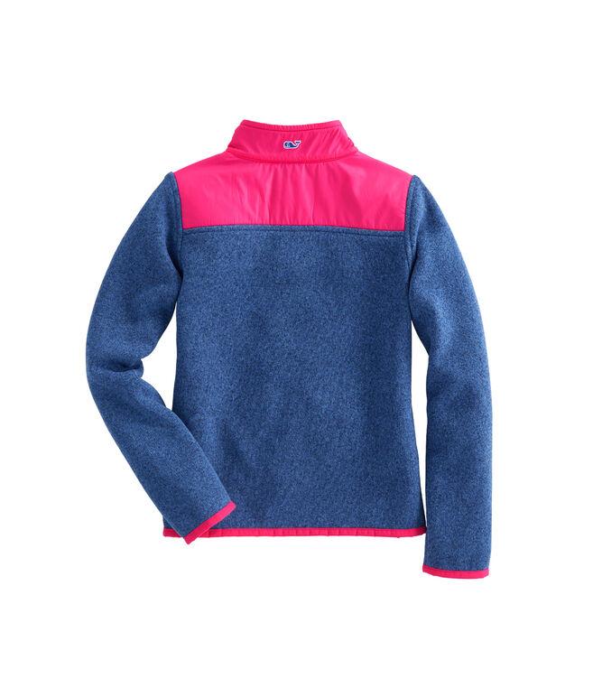 Girls Sweater Fleece Shep Shirt