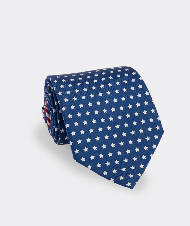 Stars & Stripes Double-Sided Printed Tie