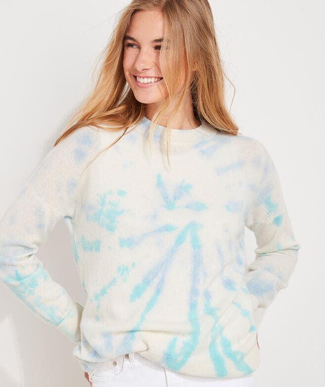 Tie-Dye Cashmere Fine Gauge Sweater