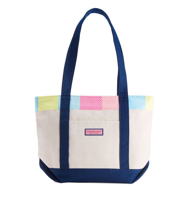 Heritage Whale Patchwork Classic Tote