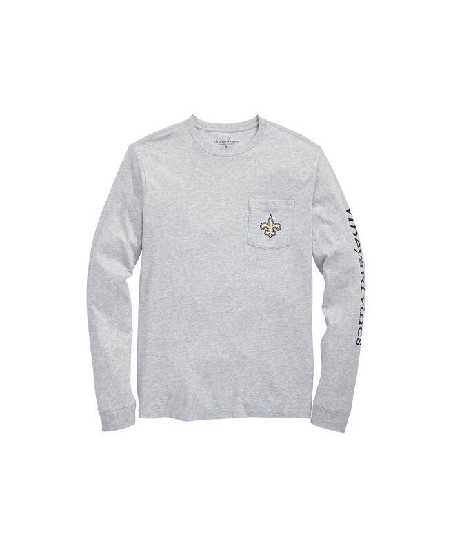 New Orleans Saints Long-Sleeve EDSFTG T-Shirt