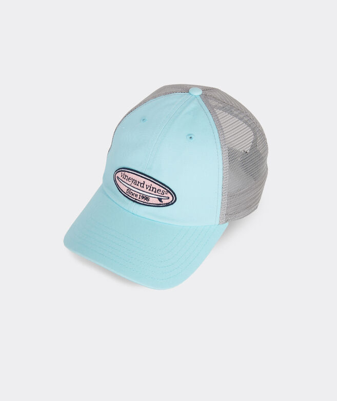 Embroidered Surf Patch Logo Trucker Hat
