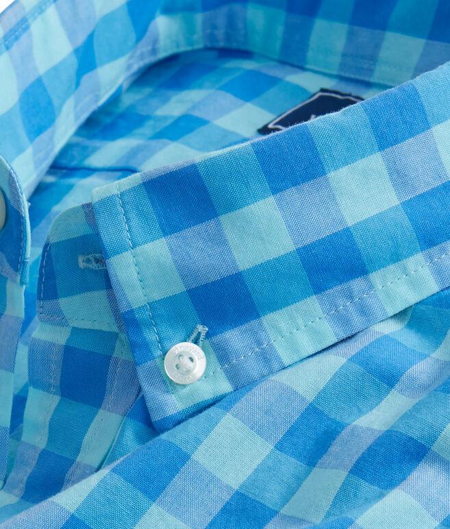 Short-Sleeve Fort George Check Slim Tucker Shirt