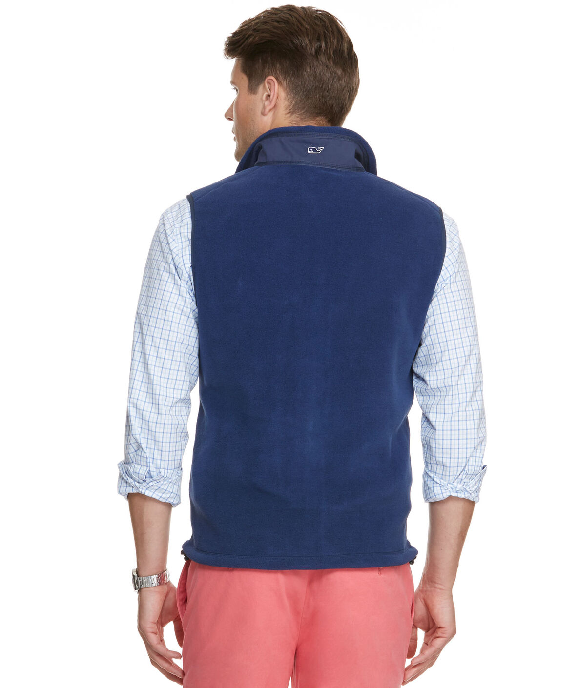Men S Vests And Outerwear Harbor Fleece Vest For Men