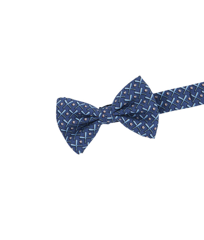 Boys Baseball Bats Bow Tie