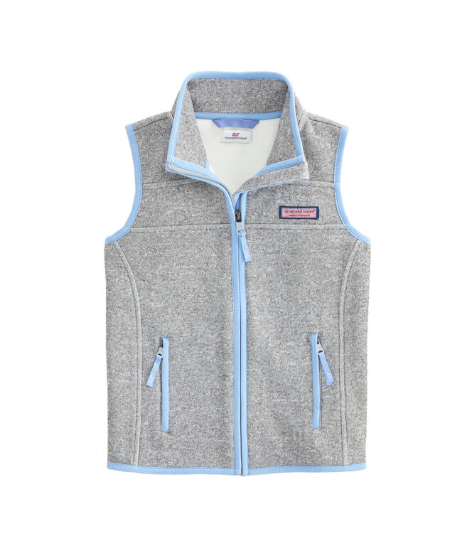 Girls Sweater Fleece Vest