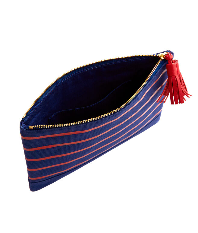 Bateau Striped Fashion Clutch