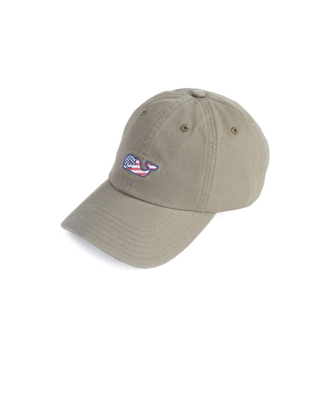 Whale Flag Baseball Hat