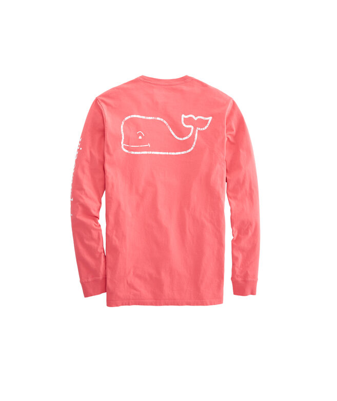 Shop Long-Sleeve Vintage Whale Graphic Pocket T-Shirt at vineyard vines ebc439d0f76