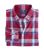 Pompano Plaid Slim Murray Shirt