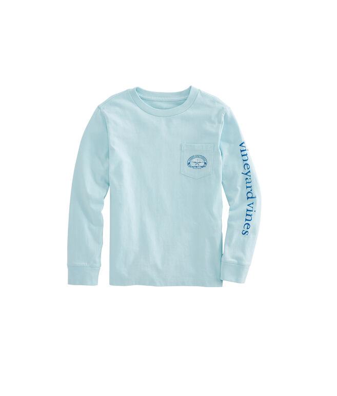 Boys Long-Sleeve No Runway Pocket T-Shirt