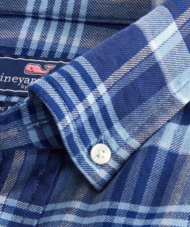 Classic Fit Gravel Tucker Short-Sleeve Button-Down Shirt
