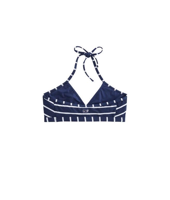 Girls Stripe Bikini Top