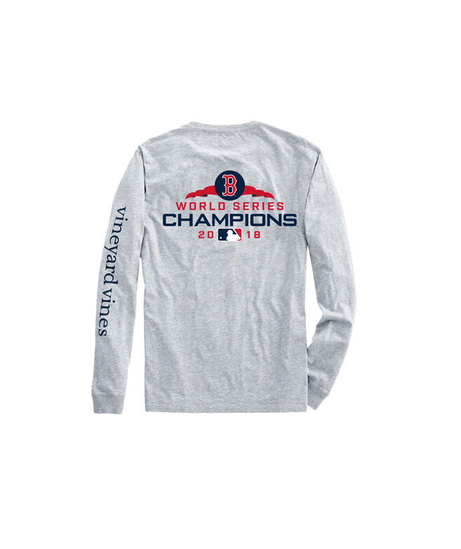 finest selection 8373d 266bf Adult Long-Sleeve Boston Red Sox World Series Champions T-Shirt