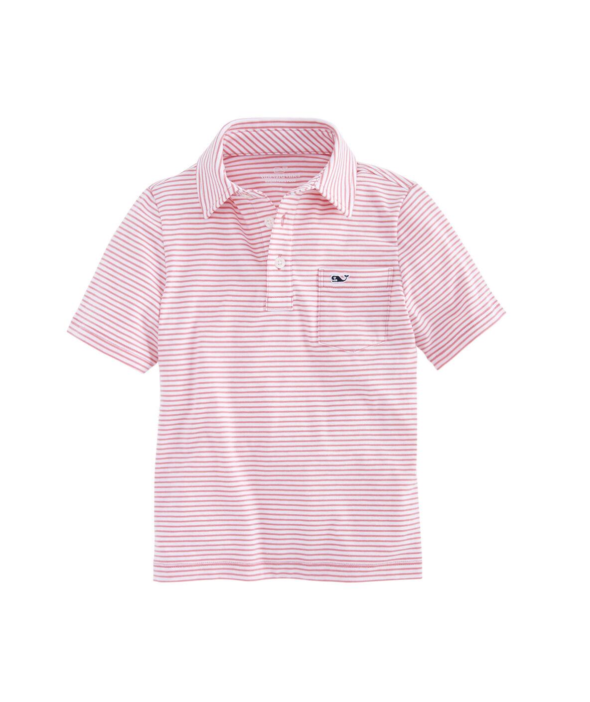 Pink Baby Boy Polo Shirt Bcd Tofu House