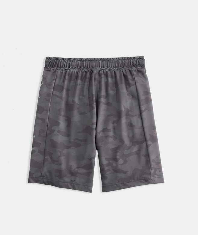 Boys' Camo Lacrosse Shorts