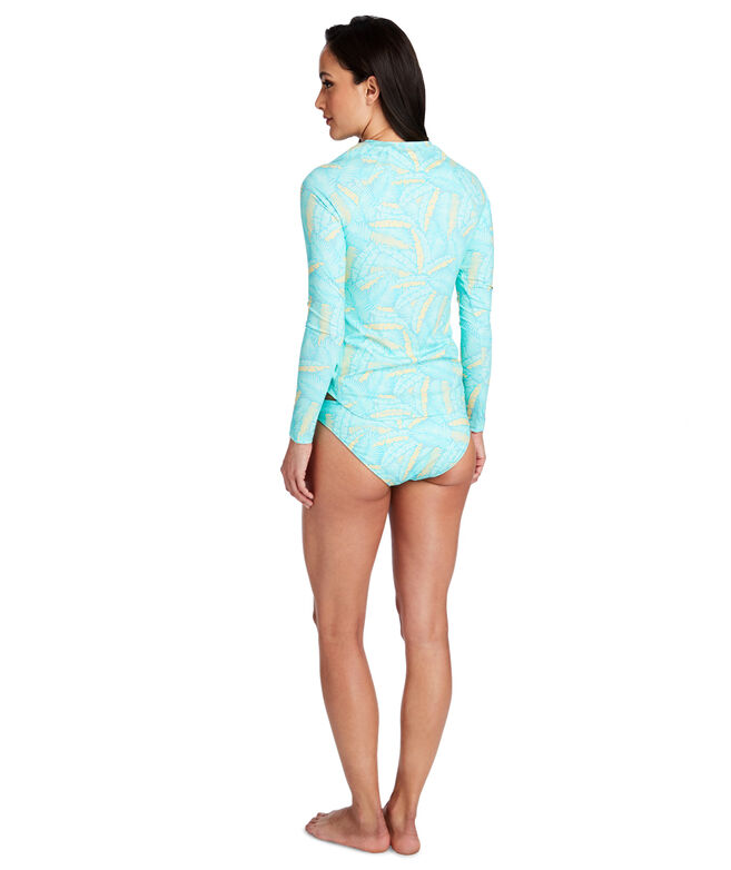Island Palms Rash Guard