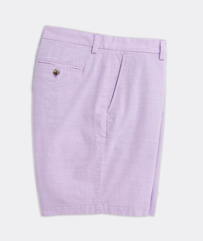 9 Inch Chambray Breaker Shorts