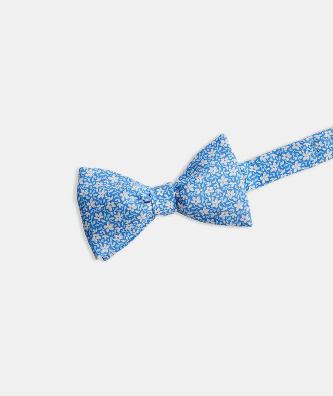 Spring Flowers Printed Bow Tie