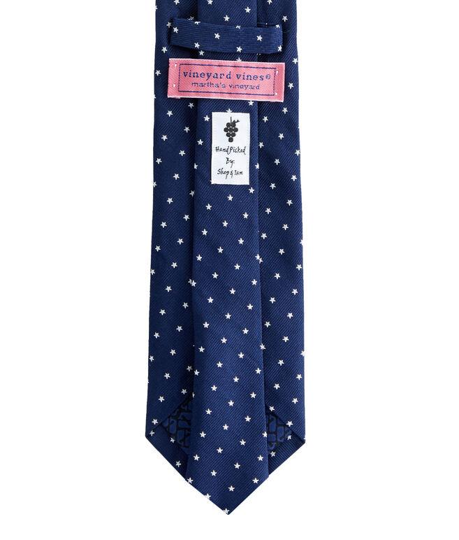 Stars Woven Tie