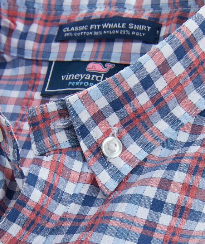 Boys Multi Plaid Harbor Shirt