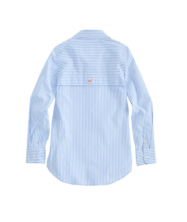 Girls Harbor Shirt Cover-Up
