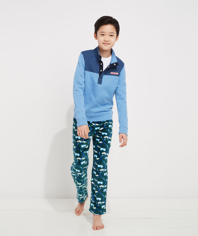 Boys' Quilted Snap Placket Shep Shirt