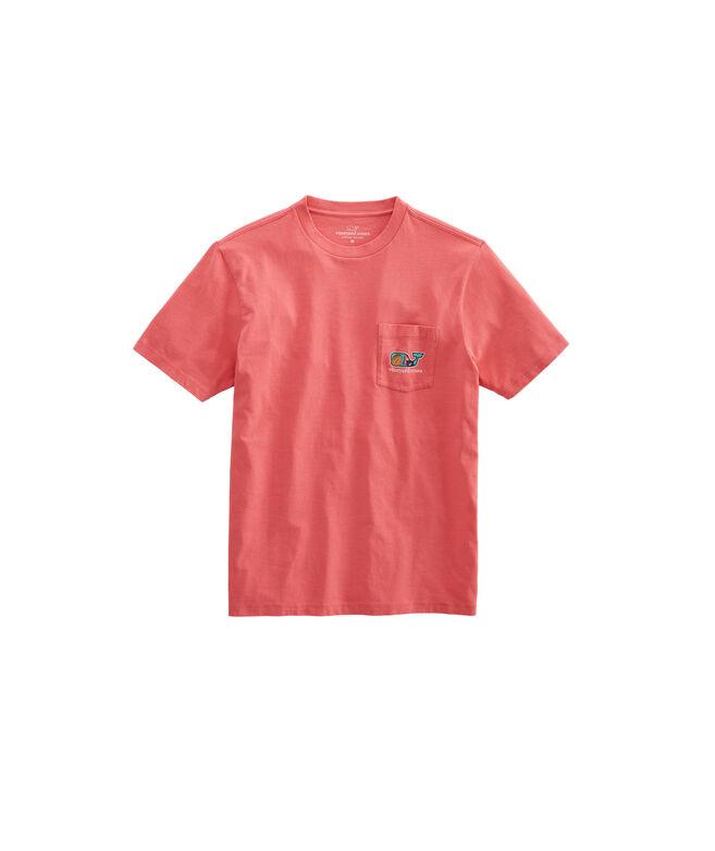 Tailgate Whale Fill Short-Sleeve Pocket T-Shirt