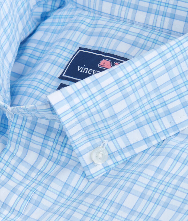 The Point House Plaid Classic Stretch Murray Shirt