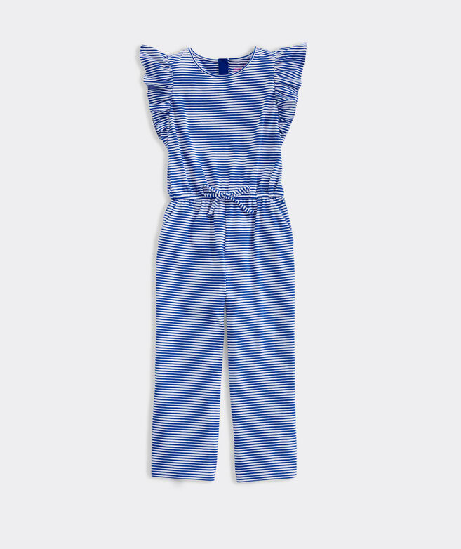 Girls' Ruffle Jumpsuit