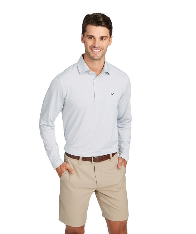 Two-Color Long-Sleeve Sankaty Performance Polo