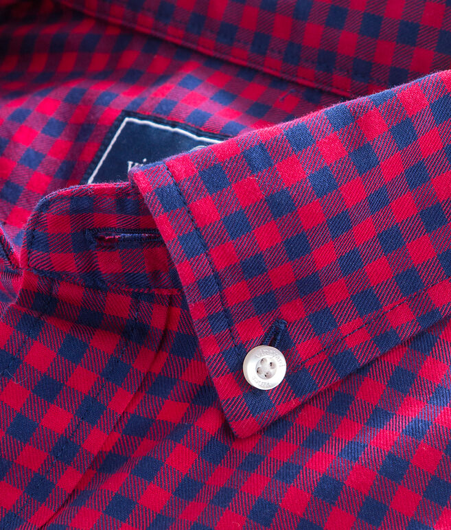 Bentley Gingham Classic Tucker Shirt