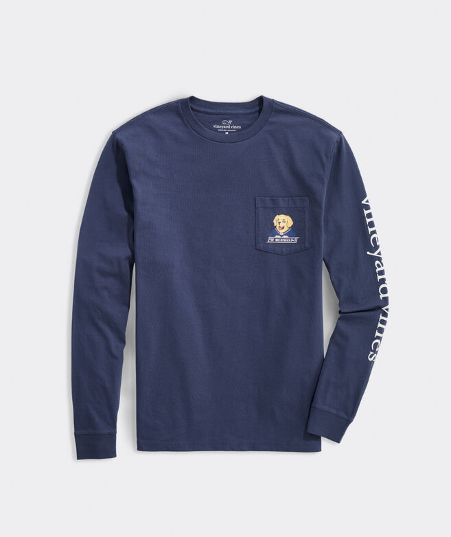 Wide Retriever Long-Sleeve Pocket Tee