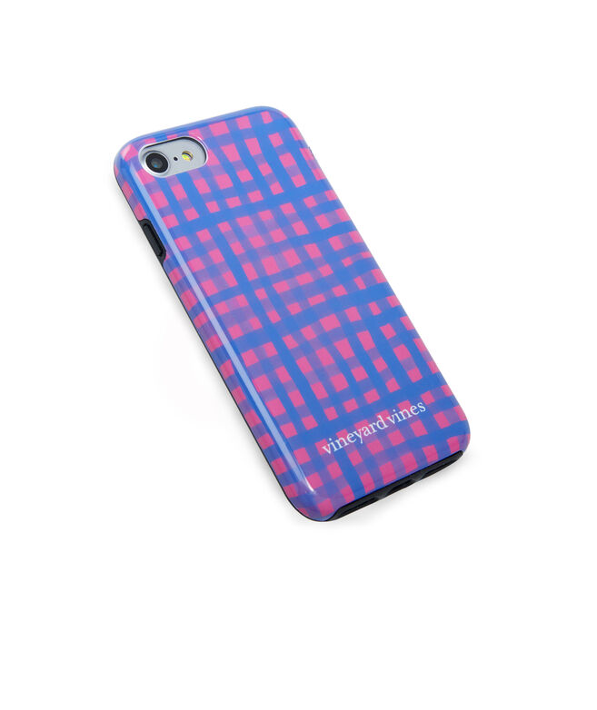 Painted Gingham iPhone 7 / 8 Case