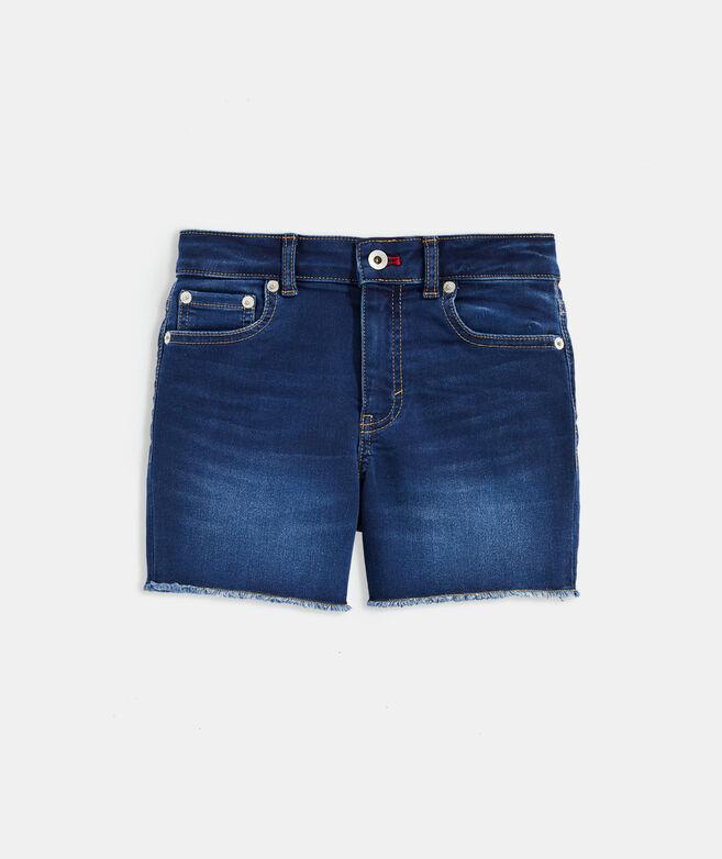 Girls' Indigo Denim Shorts