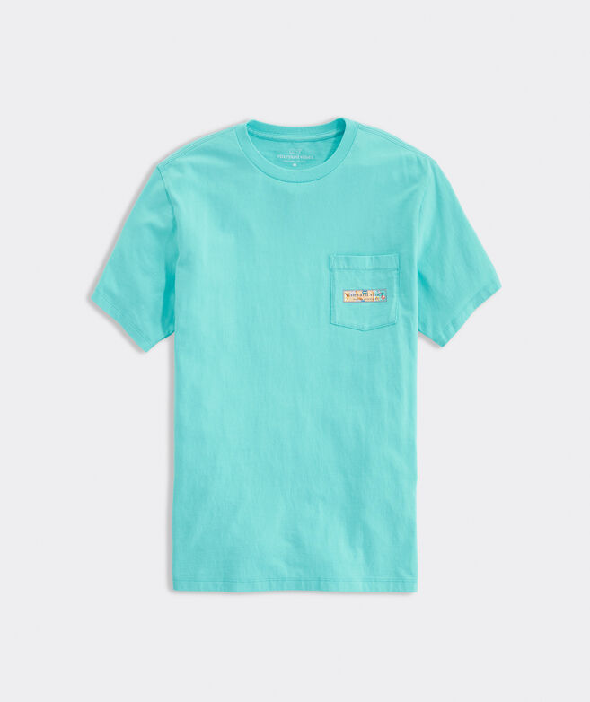 Big & Tall Beach Day Short-Sleeve Pocket Tee