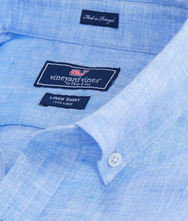 Solid Linen Classic Murray Shirt
