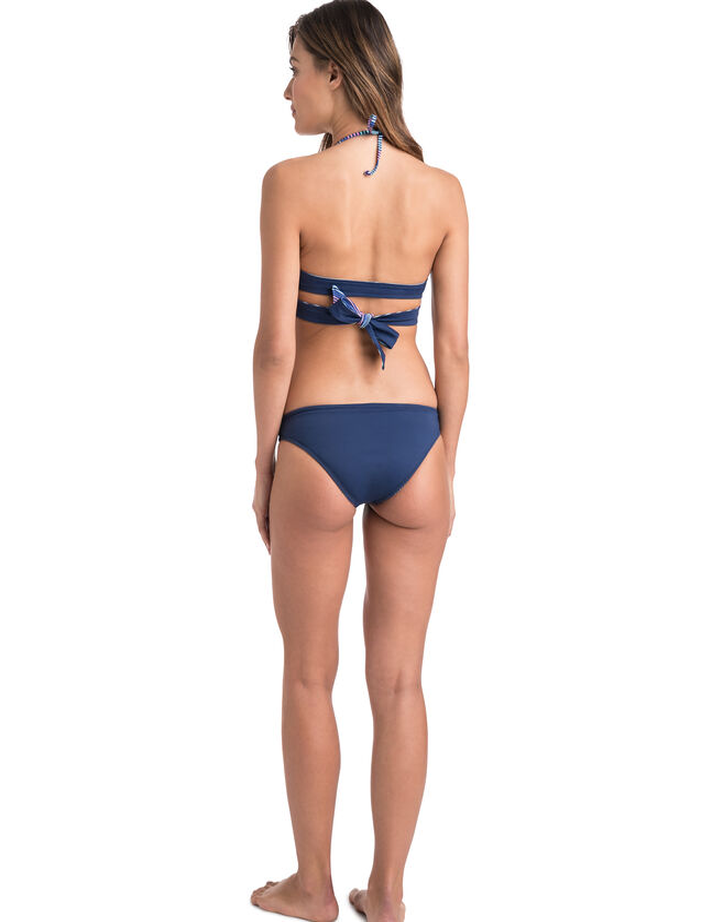 Multi Stripe Reversible Bikini Bottom