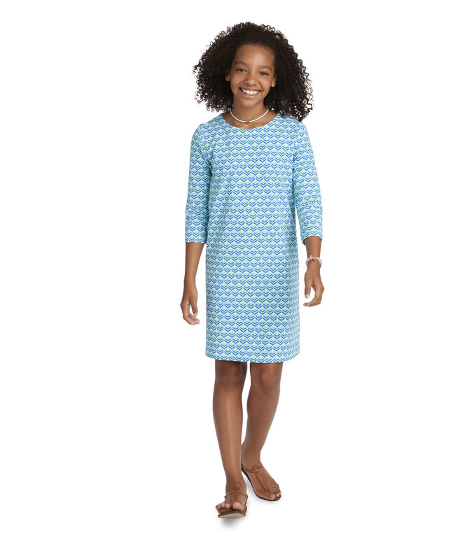 Girls Diamond Whaletail Tisbury Dress