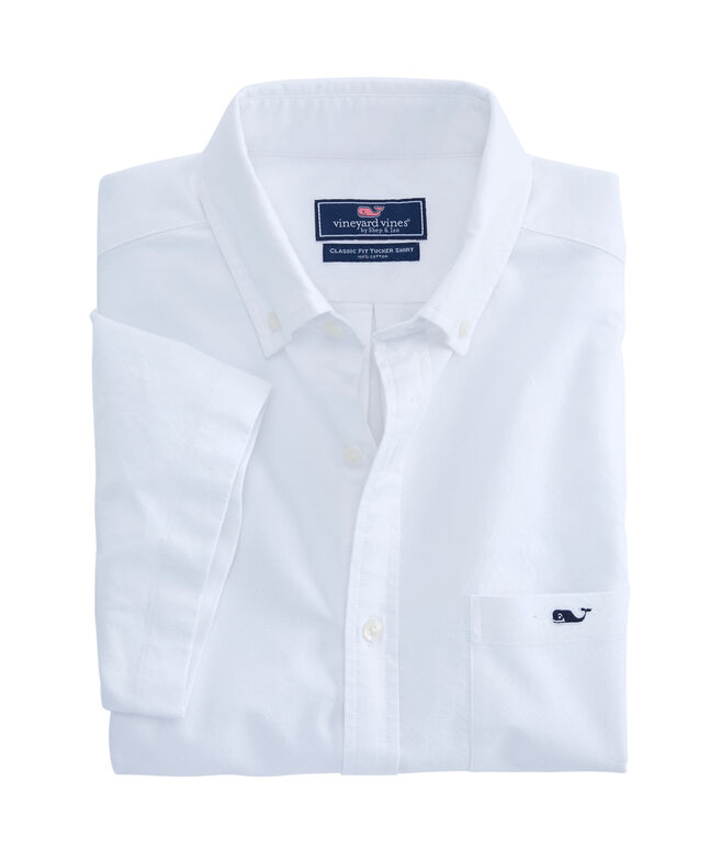 Short-Sleeve Smuggler's Cove Solid Classic Tucker Shirt
