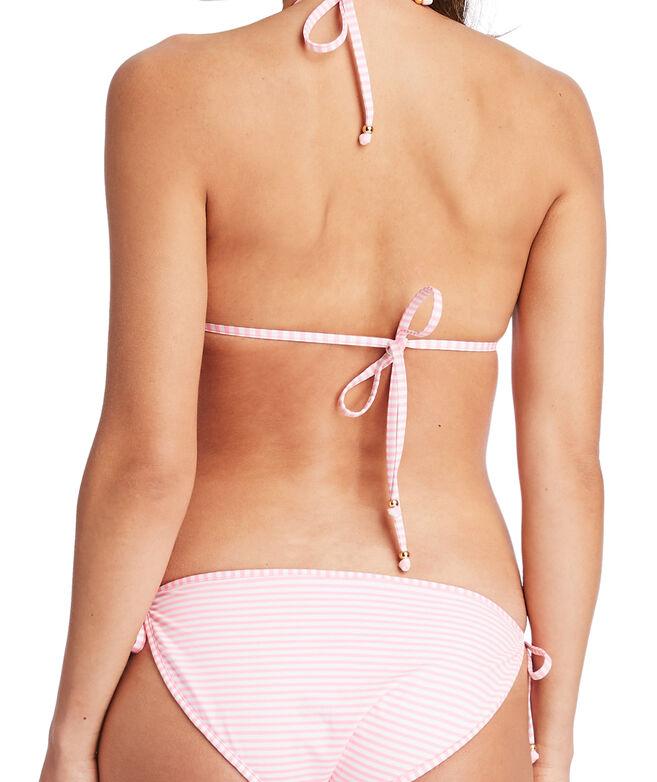 Feeder Stripe Reversible Bikini Top