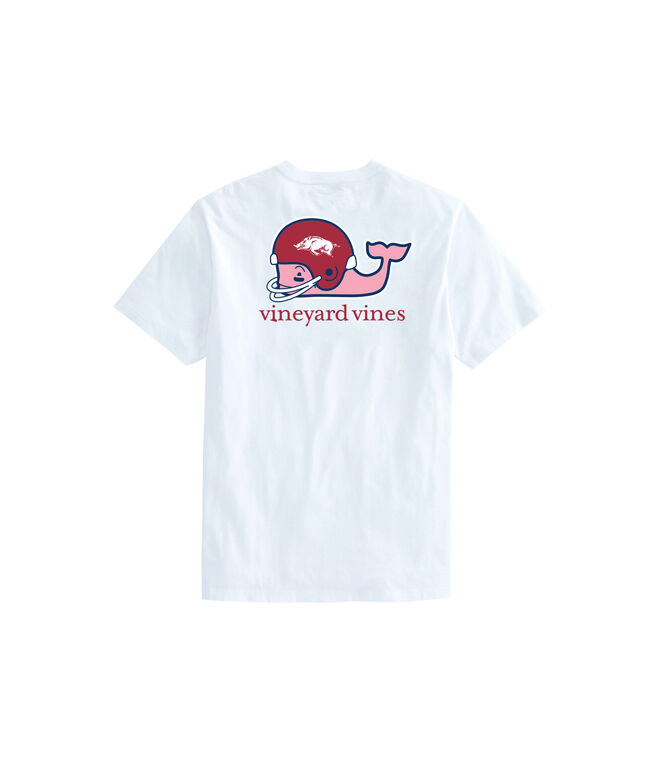 University of Arkansas Whale Helmet Women's Tee