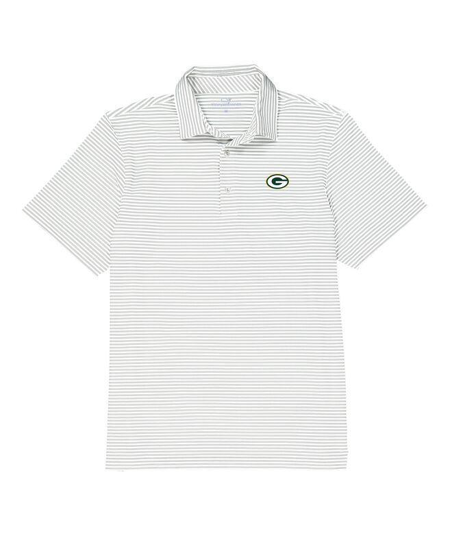 Greenbay Packers Winstead Stripe Sankaty Performance Polo