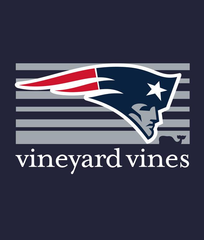 Adult Long-Sleeve New England Patriots Long-Sleeve Block Stripe T-Shirt