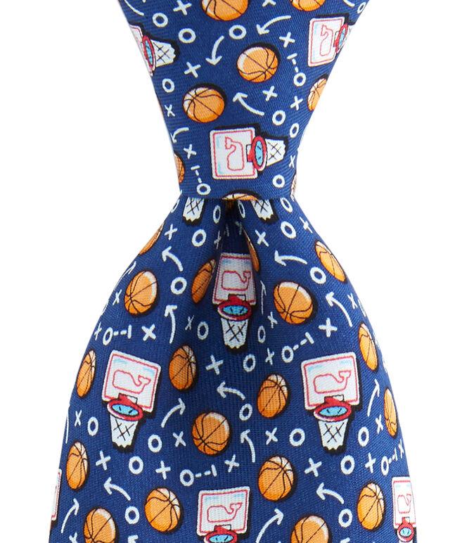 Basketball Pick & Roll Tie