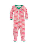 Whale Tail Zip Footed Onesie