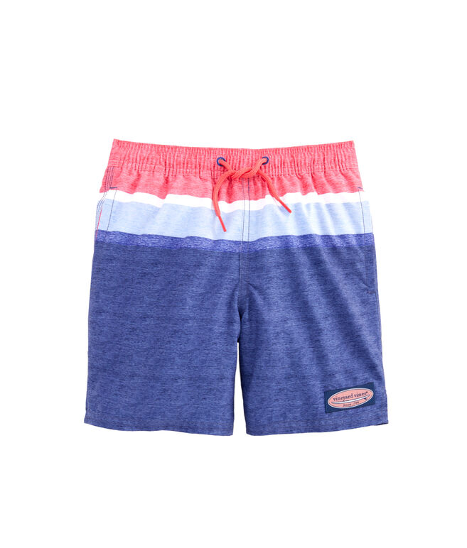 Boys Deck Stripe Chappy Trunks